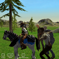 Horse Riding Simulation