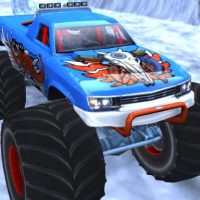 Winter Monster Truck